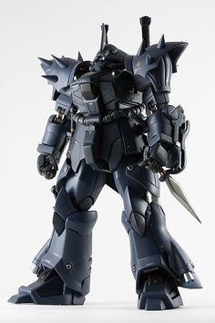 MG MS08-TX/N Efreet Nacht  Modeled by ST            CLICK HERE FOR FULL POST Gunpla Custom, Mobile Suit, Black Models, Plastic Models, Gundam, Guys, Building, Random Thoughts, Robots