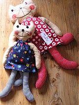 Mačka Micka / patchworks - SAShE.sk - Handmade Hračky