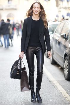 The Unexpected Reason One Blogger Is Giving Up Leggings via @WhoWhatWearUK