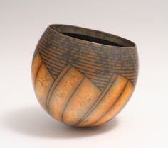 Tilting Terra-sigillata Bowl by Duncan Ross