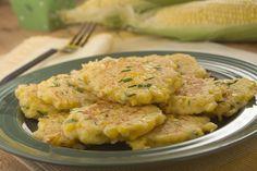 Fresh Corn Cakes | MrFood.com