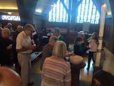 Yesterday we collected ourselves together for worship by bringing water from all over the world - literally. Stories were told of waters from Porto, to New Zealand, from Port Elgin, ON to the Glaci...