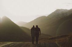 Scottish Highland Engagement Photos: Dawn + Connor