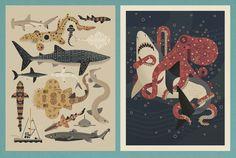 Image de puce A propos de Sharks Prints
