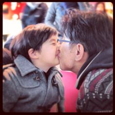 Kiss with Reho.^^