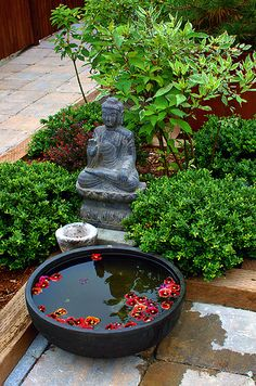 zen meditation garden indoor simple plans - Google Search                                                                                                                                                     More