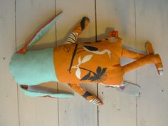 Back side of Hand made toy , ateliersolari Netherlands