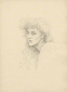 Self Portrait Violet Manners, Duchess of Rutland
