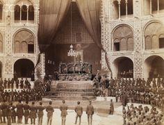 Funeral of Naseredin Shah.