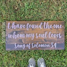 I have found the one whom my soul loves bible verse string art. Song of Solomon 3:4.