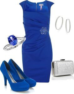 """Blue"" by maryvela on Polyvore"