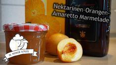Nektarinen-Orangen-Amaretto Marmelade - Rezept von Vanys Küche Popcorn Maker, Kitchen Appliances, Jam Recipes, Orange Juice, Thermomix, Cooking Ware, Home Appliances, Kitchen Gadgets