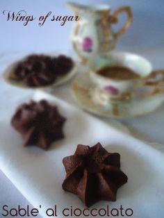 Sablè al cioccolato, ricetta biscotti al cioccolato