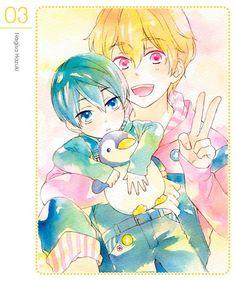 Free! Iwatobi Swim Club -Nagiasa and Haru