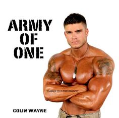 .he is an army of one!!!