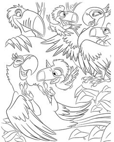 Free Rio The Movie Coloring Pages #07 - http://coloringonweb.com/2014/04/free-rio-the-movie-coloring-pages-07-8951/