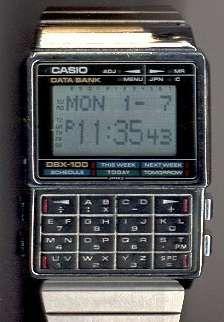Nerd Watch Museum: Calculator Watches, Part One Retro Watches, Vintage Watches, Cool Watches, Casio Databank, Casio Watch, Casio Vintage Watch, Tone Words, Nerd Chic, Cool Tech