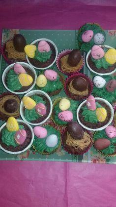 Mini cupcakes pascua