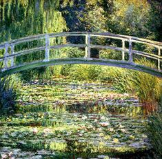 Claude Monet - Water Lilies Giverny #1 (Water-Lily Pond, Green Harmony)