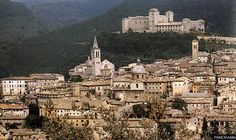 Italy: Spoleto in Umbria, just south of Tuscany. An unspoiled medieval town. Good stopping point while traveling between Florence and Rome