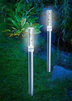 Solarleuchten Balkon solar led rock light sand lighting direct summer 18