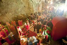 la Grotta di Babbo Natale a Ornavasso