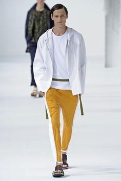 Love the orange pants! @Dawne Carlisle Carlisle Dries Van Noten Men's RTW Spring 2013
