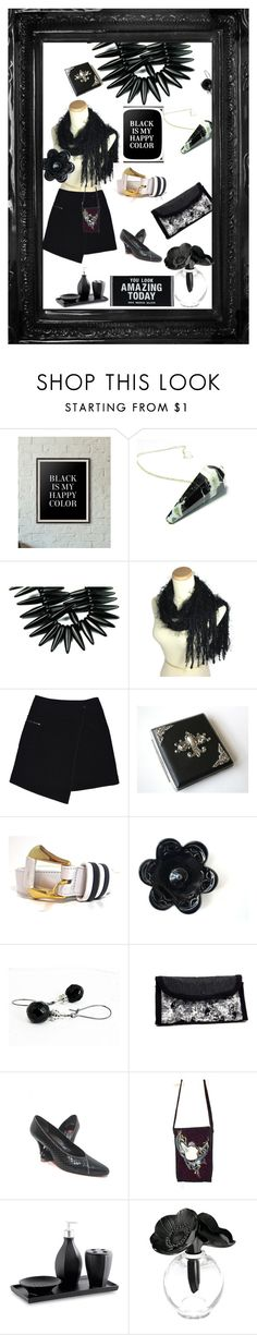 """""""Happy Color"""" by travelinggypsies ❤ liked on Polyvore featuring MARC CAIN, Anne Klein and Lalique"""
