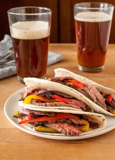 Recipe: Flank Steak Fajitas