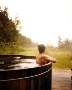 These Alaska hot springs are exactly what you need to relax and unwind. Get away from the crowds and let nature do its thing! Outdoor Baths, Outdoor Tub, Relax, Photo Portrait, The Ranch, Hot Springs, The Great Outdoors, Swimming Pools, Lap Pools