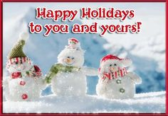 This #saturdaymorning let's #spreadholidaycheer with warm & happy wishes using this #ecard. #happyholidays #free #cards #greetings #wishes.