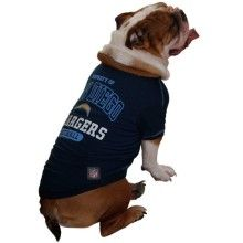 Pets First NFL San Diego Chargers T-Shirt, Large