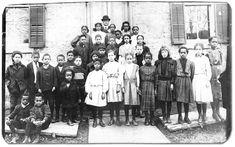 Students of King Street School in Amherstburg,  Ontario with their teacher, J. H. Alexander, [ca. 1890s]