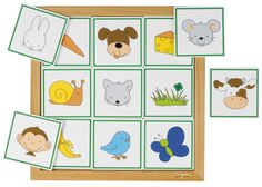 --- Sorteerlotto dieren en hun eten --- Sorteerlotto's rondom dieren, ieder met een eigen thema: Dieren en hun eten (9 stukjes), Formaat: 34 x 34 cm (l x b). 523 074