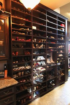 Girls Dream, My Dream, North Richland Hills, Highland Village, Flat Interior, Shoe Closet, Organizing Ideas, Closets, Dressings