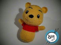 Crochet Winnie Pooh rattle / grzechotka Kubuś Puchatek
