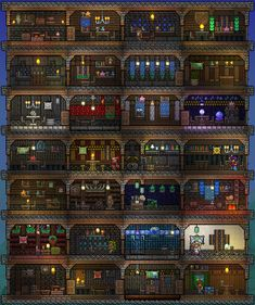 drag to resize or shift-drag to move Terraria House Design, Terraria House Ideas, Terraria Tips, Minecraft Blueprints, Minecraft Houses, Minecraft Stuff, Terraria Castle, Minecraft Construction, Minecraft Tutorial