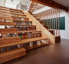 Stair/bookshelf/slide/theater