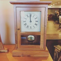 """Did time stop the first time you saw that special someone in your life? Say """"I never want to spend a second without you"""" this #ValentinesDay with our Shaker Mantel Clock available for purchase in our #Sarasota store. #DutchCrafters #AmishFurniture #GiftofTime"""