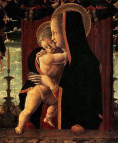 Squarcione Virgin and Child - Francesco Squarcione - Wikipedia