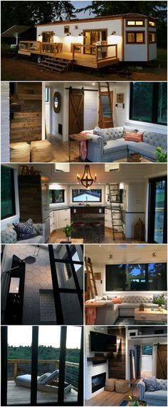 Tiny House in Hawaii by Tiny Heirloom Has a Surprisingly Cozy Inside - Let's look past the fact for a second that this tiny house is located in Hawaii. I mean, that's enough to sell me on it, but you have to see the details! From wood flooring to high-end fixtures and appliances, this little house has more class than most mansions. #tinyhouses #tinyheirloom