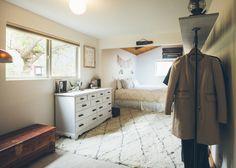 Sneak peak of our bedroom + Rug Giveaway!