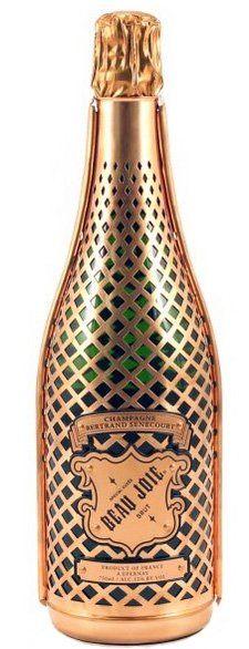 Beau Joie Brut champagne te koop bij Champagne Babes - 100% koperen harnas - zero dosage champagne van Bertrand Senecourt - www.champagnebabes.nl