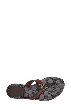 f897a0b6880 Gucci Signature Flip Flops   Sandals- Gorgeous used Gucci Sandals ...