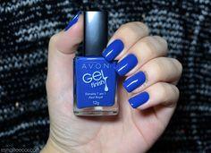 Esmalte e Cor: Azul Royal - Avon Gel Finish