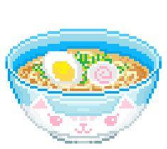 Sandbox bowl of salad Pixel Art Food, Anime Pixel Art, Food Art, Cute Pixels, Faire Du Pixel Art, Aesthetic Art, Aesthetic Anime, Pixel Kawaii, Kawaii Doodles