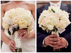 Gorgeous white bouquet