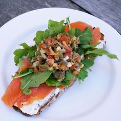 One of the greatest food pairings of all time – it's difficult to go wrong with smoked salmon and cream cheese. Order our Smoked Salmon,… Smoked Salmon, Bruschetta, Great Recipes, Cheese, Cream, Ethnic Recipes, Food, Creme Caramel, Chowder