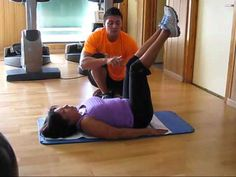 Ejercicios para personas con hernia discal, lumbálgias, protuciones. - YouTube