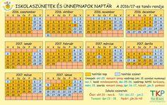 Mentsd el: itt a tanév rendje, naptárformában! - MindenegybenBlog
